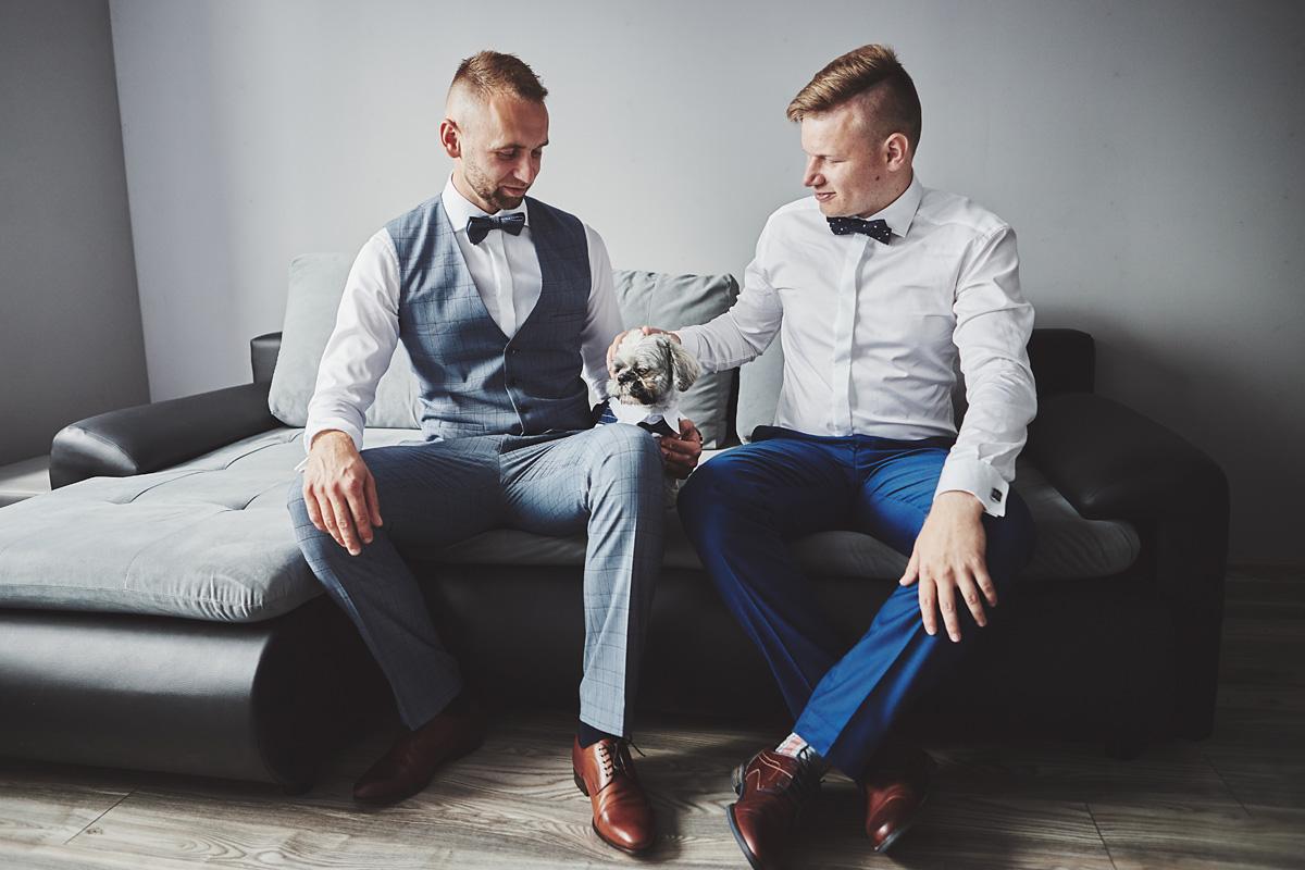 Skrót z reportażu ślubnego w Dworku Broniszówka 14