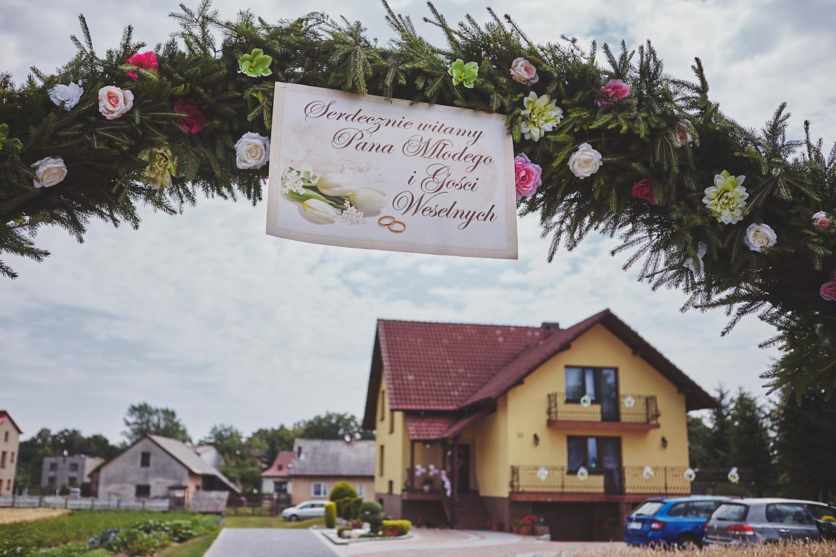 Skrót z reportażu ślubnego w Dworku Broniszówka 17
