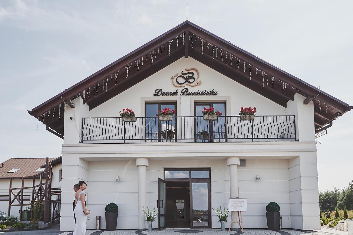 Skrót z reportażu ślubnego w Dworku Broniszówka 66