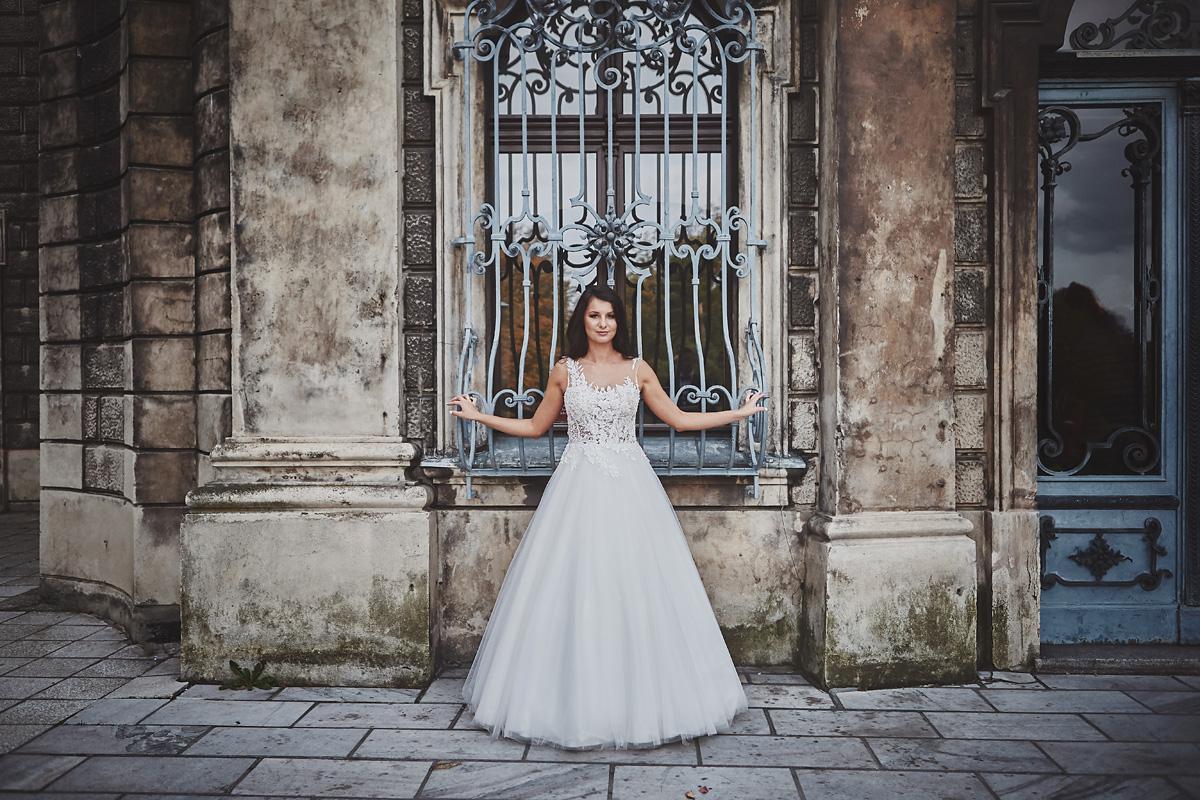 Plener ślubny na zamku w Mosznej 47