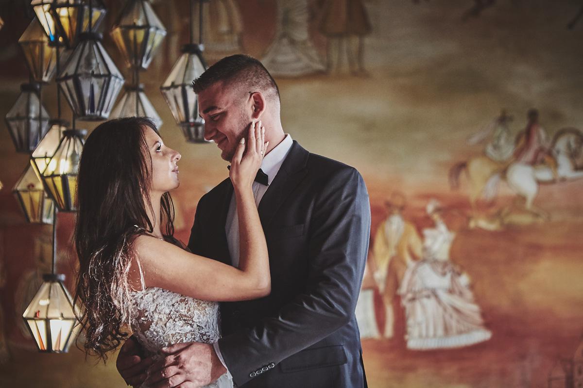 Plener ślubny na zamku w Mosznej 53