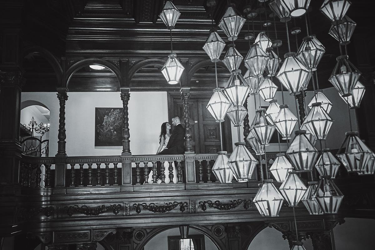 Plener ślubny na zamku w Mosznej 56