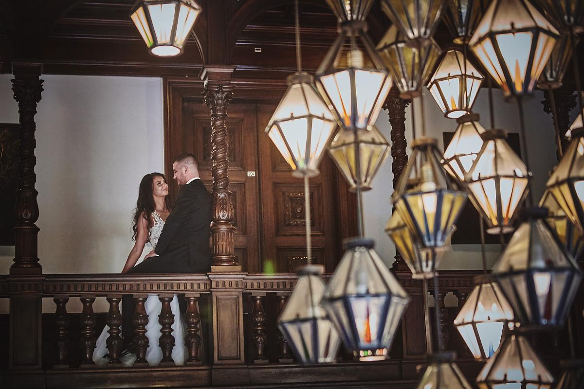 Plener ślubny na zamku w Mosznej 57