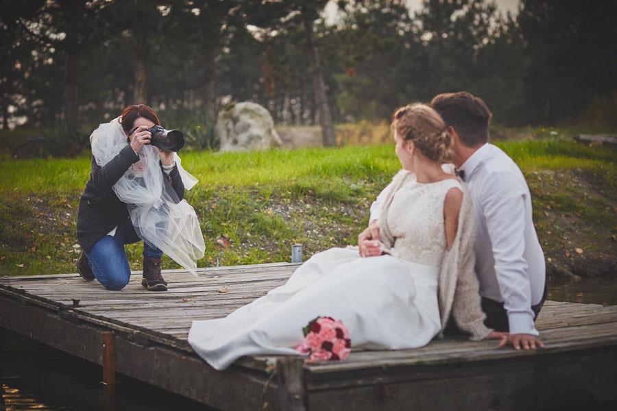 fotograf w plenerze